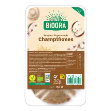REFRIG HAMBURGUESA VEGETAL DE CHAMPIÑONES 160 g